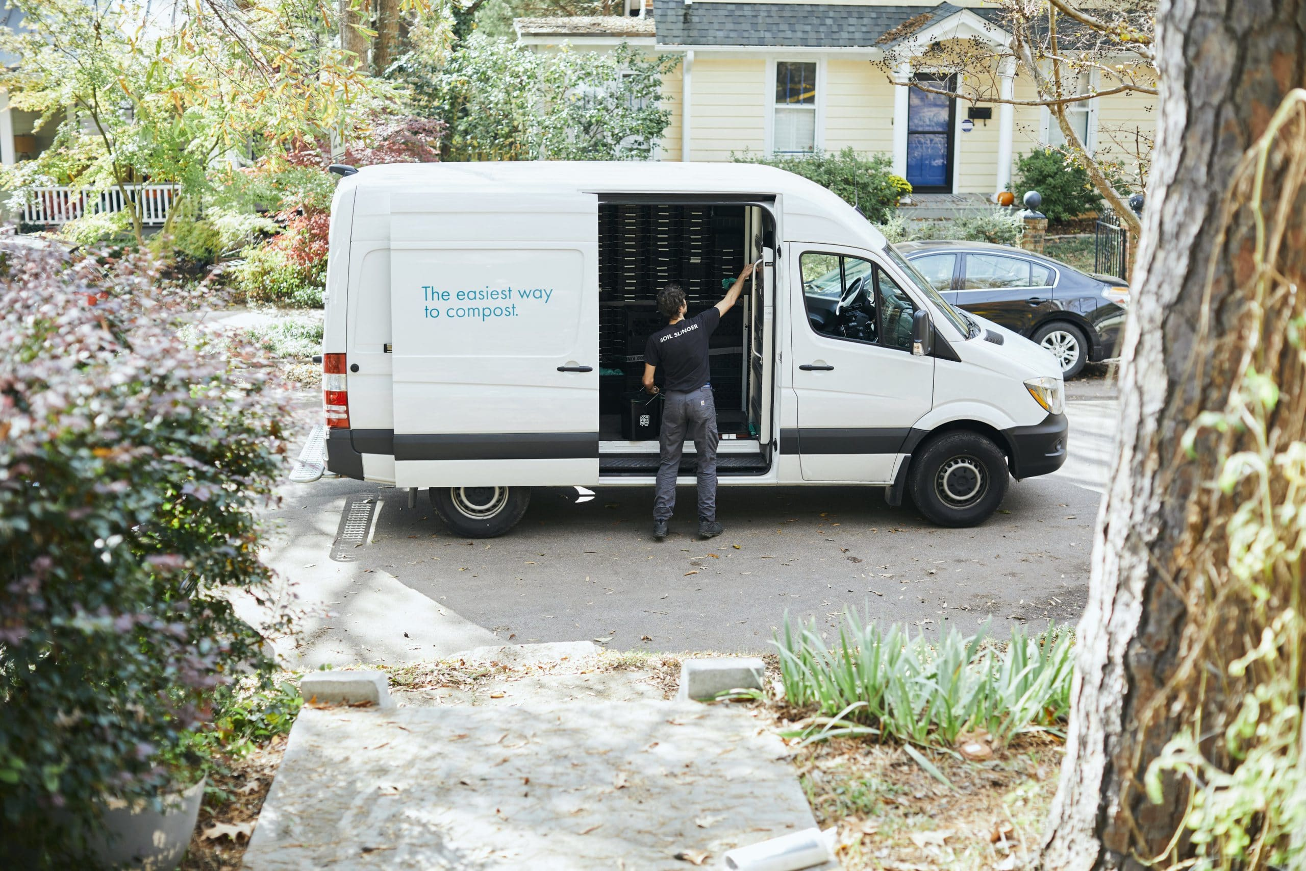 CompostNow Fleet Van