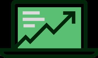 Icon showing Improvement